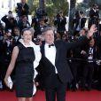 Daniel Auteuil et son épouse Aude Ambroggi lors du 66e festival du film de Cannes le 25 mai 2013