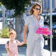 Jessica Alba emmène sa fille Haven à une fête d'anniversaire à West Hollywood, le 2 mai 2015