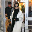 Kris et Kendall Jenner arrivent à l'aéroport JFK à New York. Le 3 mai 2015.