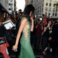 Kendall Jenner quitte l'hôtel Mark à New York, le 4 mai 2015.