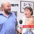 Didier et Stéphanie (saison 8) - A l'occasion des 10 ans de  L'amour est dans le pré , d'anciens candidats emblématiques du programme ont été réunis pour une séance photo.  Télé-Loisirs  a assisté à cette réunion de famille. Le 4 mai 2015.