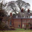 Anmer Hall (photo d'archives - janvier 2013), la maison de campagne du prince William et de la duchesse de Cambridge à Sandringham, dans le Norfolk. Le couple s'y est retiré le 6 mai 2015 avec ses enfants le prince George et la princesse Charlotte de Cambridge.