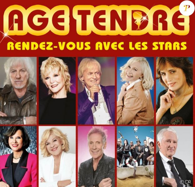 La fin de la tournée Age Tendre : Rendez-vous avec les stars vient d'être annulée