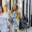 Lindsay Lohan à Londres, le 23 avril 2015