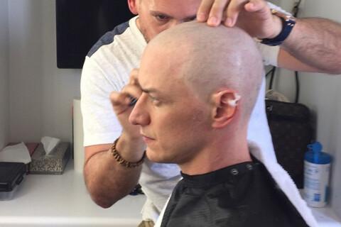 James McAvoy, le crâne rasé pour X-Men : Il se prépare pour l'Apocalypse