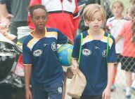 Shiloh et Zahara Jolie-Pitt : Deux craquantes petites footballeuses