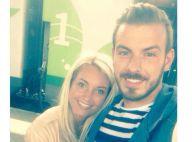 Aurélie Dotremont et Julien Bert, fous amoureux, fêtent leurs 10 mois d'amour