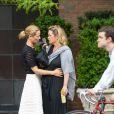 Maria Bello et sa compagne Clare Munn à New York le 11 mai 2015