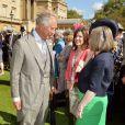 Le prince Charles lors de la première garden party de l'année à Buckingham, le 12 mai 2015
