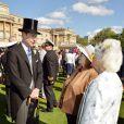 Le prince Edward, comte de Wessex lors de la première garden party de l'année à Buckingham, le 12 mai 2015