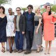 Sophie Marceau, Rokia Traoré, Ethan et Joël Coen, Sienna Miller et Rossy de Palma - Photocall du jury du 68e Festival International du Film de Cannes, le 13 mai 2015.