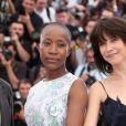 Rokia Traoré et Sophie Marceau - Photocall du jury du 68e Festival International du Film de Cannes, le 13 mai 2015.