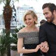 Sienna Miller et Jake Gyllenhaal - Photocall du jury du 68e Festival International du Film de Cannes, le 13 mai 2015.