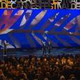 La cérémonie d'ouverture du 68e Festival de Cannes le 13 mai 2015 : les présidents du jury Joel et Ethan Coen, qui ont le droit à une standing ovation
