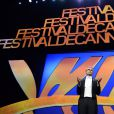 Lambert Wilson lors de la cérémonie d'ouverture du 68e Festival du film de Cannes le 13 mai 2013.
