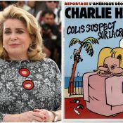 Catherine Deneuve victime de Charlie Hebdo: Elle répond à la couverture-scandale