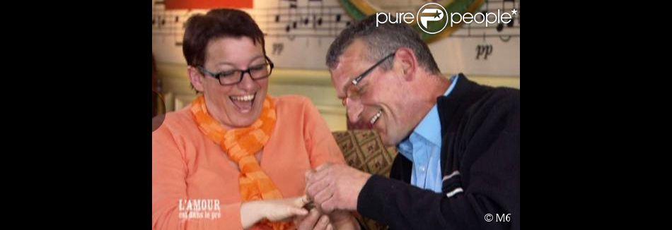 Jean-Claude a demandé Maud en mariage dans  L'amour est dans le pré  lors du bilan réalisé en 2012.
