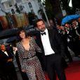 Mélanie Doutey et Gilles Lellouche au Festival de Cannes 2012