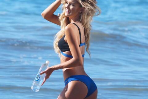 Kayla Lewis : Torride en bikini, la bombe écolo se dore la pilule