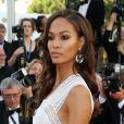 """Joan Smalls - Montée des marches du film """"Youth"""" lors du 68e Festival de Cannes, le 20 mai 2015."""