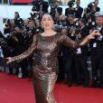 """""""Rossy de Palma - Montée des marches du film """"Youth"""" lors du 68e Festival de Cannes, le 20 mai 2015."""""""