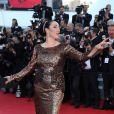 """Rossy de Palma - Montée des marches du film """"Youth"""" lors du 68e Festival de Cannes, le 20 mai 2015."""