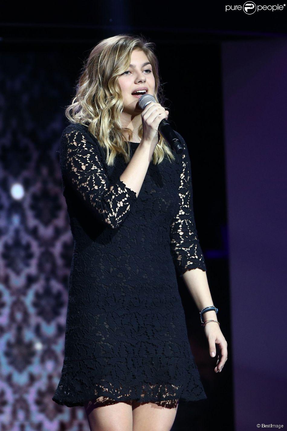 Exclusif - Louane - Enregistrement de l'émission  Hier Encore  à l'Olympia, le 7 janvier 2015.
