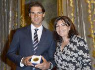 Rafael Nadal, ému face à Anne Hidalgo : 'Le plus Parisien des Majorquins' honoré