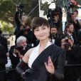 """Li Yuchun - Montée des marches du film """"The Little Prince"""" (Le Petit Prince) lors du 68e Festival International du Film de Cannes, le 22 mai 2015."""