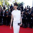 """Hanaa Ben Abdesslem (Hana Abdessalem) - Montée des marches du film """"The Little Prince"""" (Le Petit Prince) lors du 68e Festival International du Film de Cannes, le 22 mai 2015."""