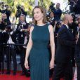 """Carole Bouquet - Montée des marches du film """"The Little Prince"""" (Le Petit Prince) lors du 68e Festival International du Film de Cannes, le 22 mai 2015."""