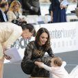 """Tamara Ecclestone et sa fille Sophia - """"Amber Lounge Fashion and Auction Party"""" à l'hôtel Méridien à Monaco, le 22 mai 2015. Dans le cadre du Grand Prix de Formule 1 de Monaco, des pilotes automobiles et leurs femmes ont défilé pour la bonne cause. 22/05/2015 - Monaco"""
