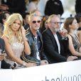 """Eddie Irvine, Victoria Silvstedt, Liam Cunningham - """"Amber Lounge Fashion and Auction Party"""" à l'hôtel Méridien à Monaco, le 22 mai 2015. Dans le cadre du Grand Prix de Formule 1 de Monaco, des pilotes automobiles et leurs femmes ont défilé pour la bonne cause. 22/05/2015 - Monaco"""