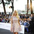 """Victoria Silvstedt - """"Amber Lounge Fashion and Auction Party"""" à l'hôtel Méridien à Monaco, le 22 mai 2015. Dans le cadre du Grand Prix de Formule 1 de Monaco, des pilotes automobiles et leurs femmes ont défilé pour la bonne cause. 22/05/2015 - Monaco"""