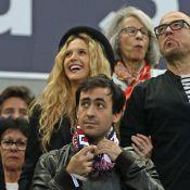 Pascal Obispo et Julie Hantson : Amoureux passionné devant Zinédine Zidane, ému