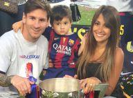 Lionel Messi et Gerard Piqué : Les papas du Barça heureux pour la fête du titre