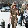 Kate Bosworth se promène dans les rues de New York, le 15 avril 2015