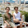 Dylan et Cole Sprouse (de la série Zack et Cody) en vacances en Italie le 14 juin 2014
