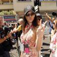 Kendall Jenner - People lors du Grand Prix de Formule 1 de Monaco le 24 mai 2015