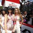 Hayley Baldwin, Bella Hadid, Kendall Jenner, Gigi Hadid - People lors du Grand Prix de Formule 1 de Monaco le 24 mai 2015