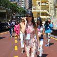 Kendall Jenner, Gigi Hadid et Bella Hadid - People au Grand Prix de formule 1 de Monaco le 24 mai 2015