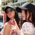 Kendall Jenner et Bella Hadid - People au Grand Prix de formule 1 de Monaco le 24 mai 2015
