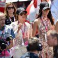 Kendall Jenner - People au Grand Prix de formule 1 de Monaco. le 24 mai 2015.