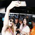 Gigi Hadid, Kendall Jenner, Bella Hadid - People au Grand Prix de formule 1 de Monaco. le 24 mai 2015.