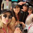 Kendall Jenner, Gigi Hadid et leurs copines au Grand Prix de Monaco, sur Instagram le 24 mai 2015