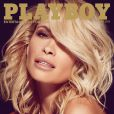 """Dani Marthers, playmate de l'année 2015, en couverture du magazine """"Playboy"""", juin 2015."""