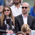 Thierry Omeyer à Roland-Garros le 26 mai 2015.