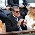 Jean-Claude Camus, sa fille Isabelle à Roland-Garros le 26 mai 2015.