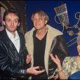 Pierre Palmade et Patrick Juvet au Queen à Paris en 1994.