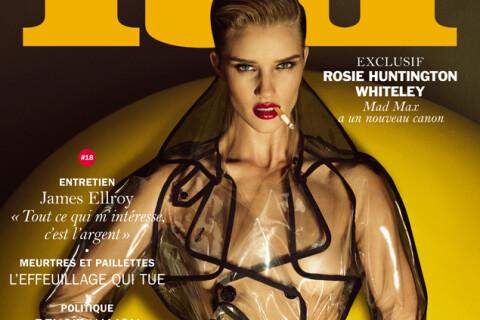 """Rosie Huntington-Whiteley : Torride et entièrement nue pour """"Lui"""""""